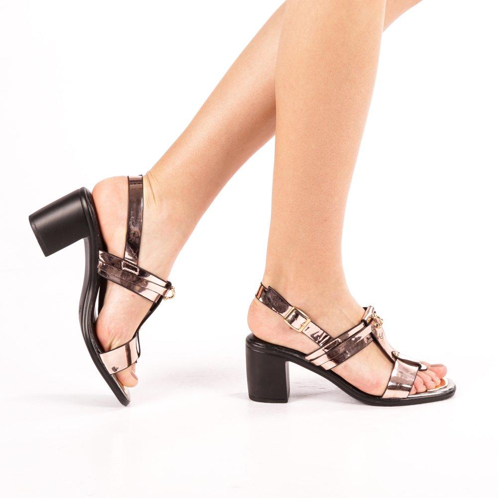 Sandale dama Dakota bej sampanie